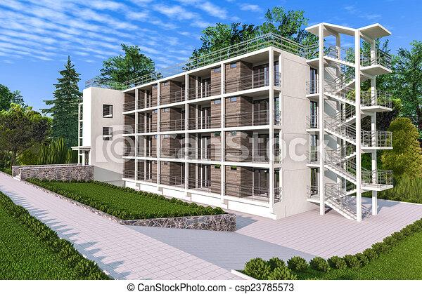 maison appartement jardin appartement jardin maison illustrations de stock. Black Bedroom Furniture Sets. Home Design Ideas