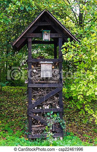 maison bois insecte hotel photographies de stock rechercher photo clip art csp22461996. Black Bedroom Furniture Sets. Home Design Ideas