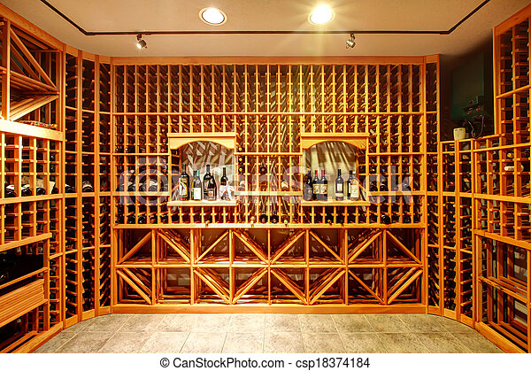maison cave conception id e vin cave bois stockage bottles clair unit s maison. Black Bedroom Furniture Sets. Home Design Ideas