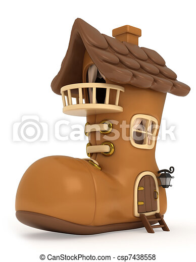 maison, chaussure - csp7438558