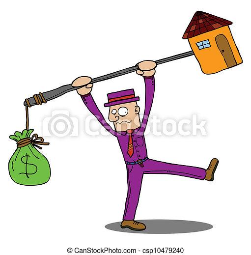 maison, coûteux - csp10479240