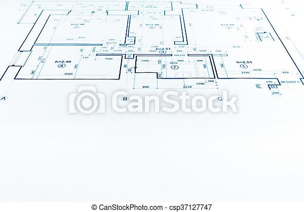 Maison Dessin Projet Partie Plan Plan Architectural