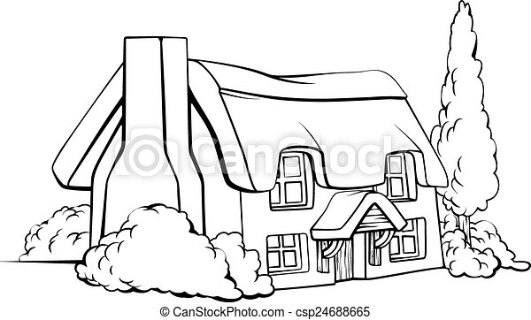 Maison Ferme Petite Maison Idyllique Maison Ferme  Clip Art