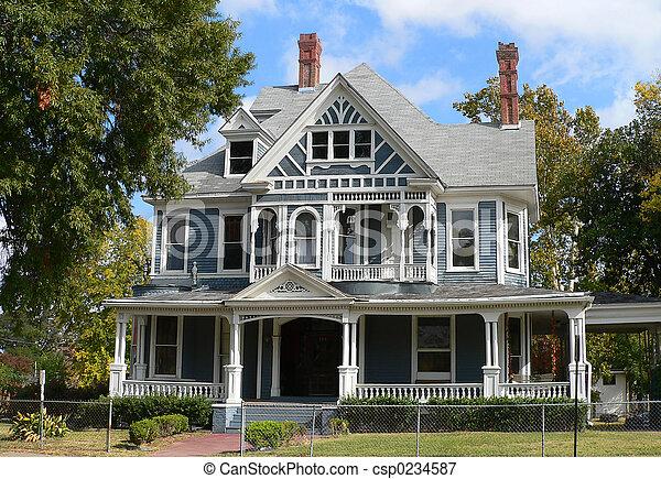 maison, historique - csp0234587