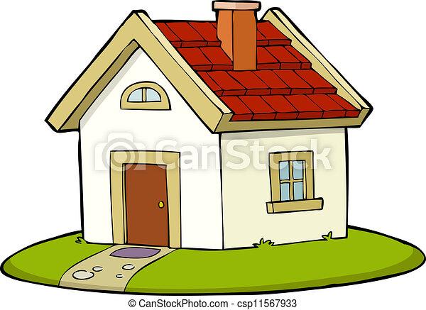 maison, icône - csp11567933