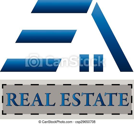 maison, logo - csp29650708