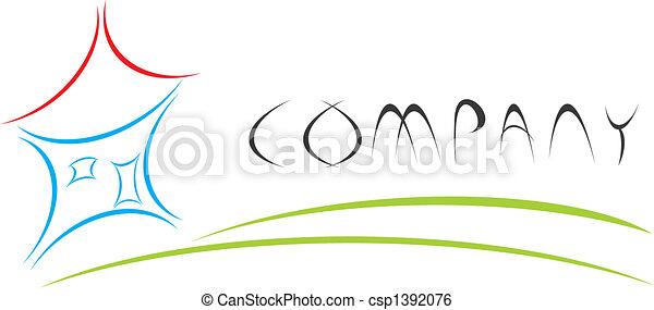 maison, logo - csp1392076