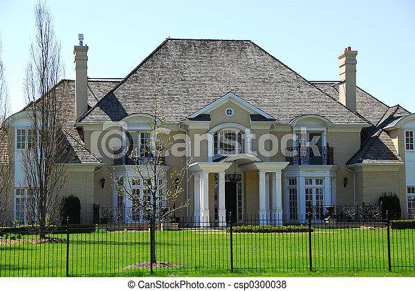 maison, luxe - csp0300038