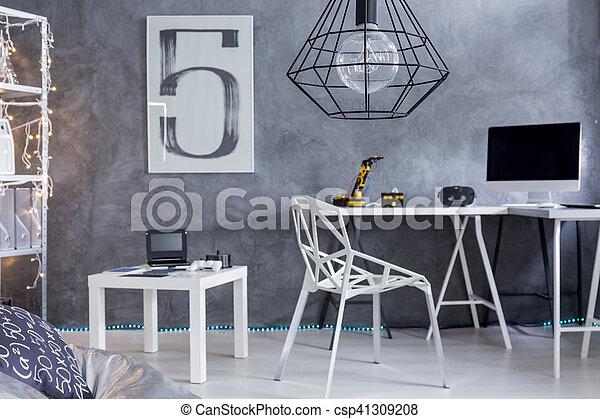 Maison meubles minimalistic bureau secteur plus proche coup