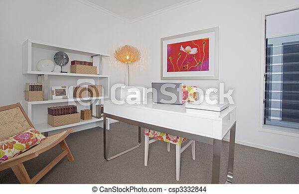 Maison moderne bureau maison mitoyenne