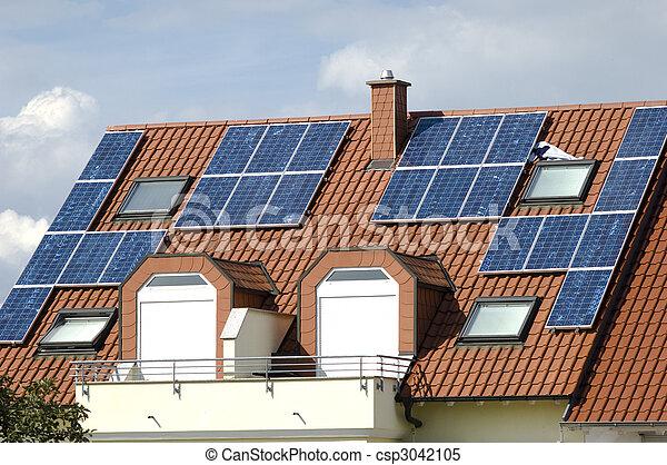 maison moderne solaire contr leurs contr leurs lectricit maison nergie solaire. Black Bedroom Furniture Sets. Home Design Ideas
