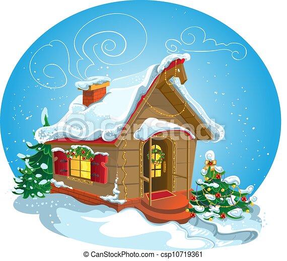 maison, noël - csp10719361