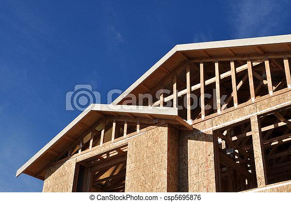 maison, nouveau, construction, sous - csp5695876