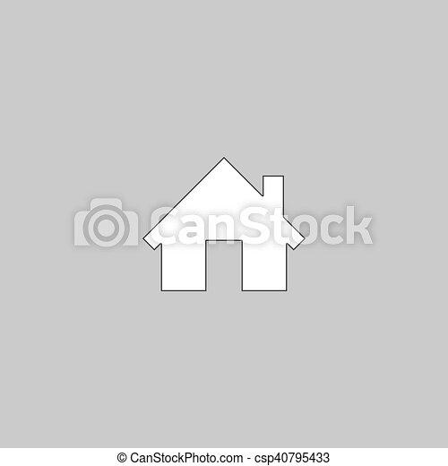 Maison Symbole Informatique