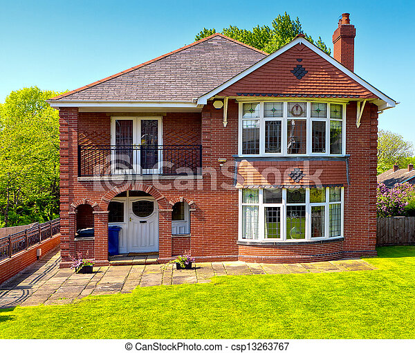 maison typique anglaise