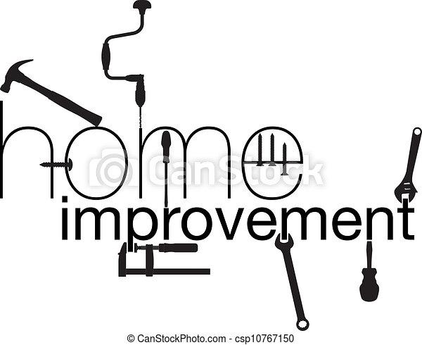 maison, vecteur, improvement., illustration - csp10767150
