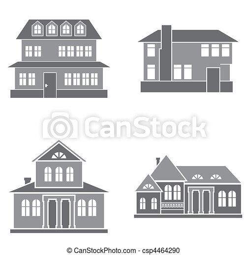 maisons - csp4464290