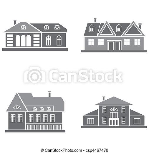 maisons - csp4467470