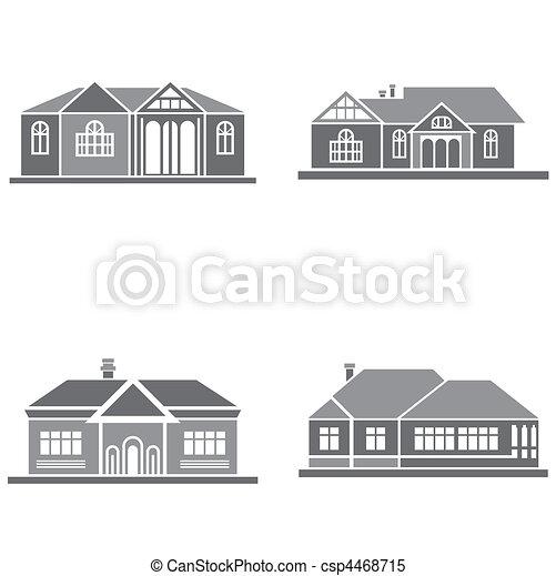 maisons - csp4468715