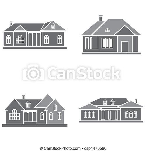 maisons - csp4476590