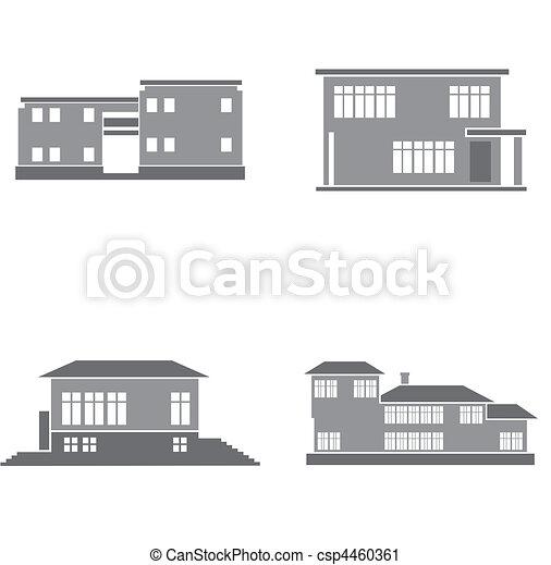 maisons - csp4460361
