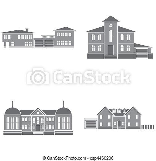 maisons - csp4460206
