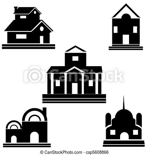 maisons - csp5608866