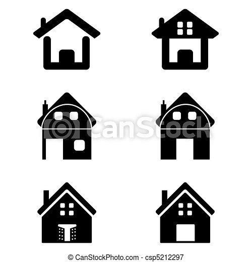 maisons, divers - csp5212297