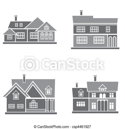 maisons - csp4461927
