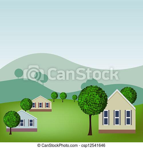 maisons - csp12541646