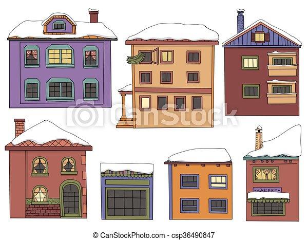 maisons - csp36490847
