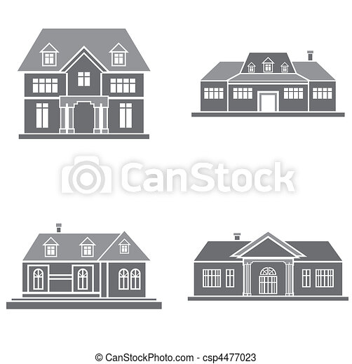 maisons - csp4477023