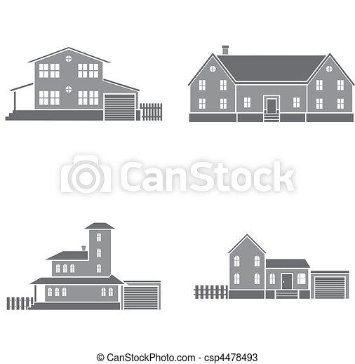 maisons - csp4478493