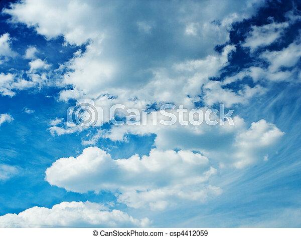 majestätisch, himmelsgewölbe - csp4412059