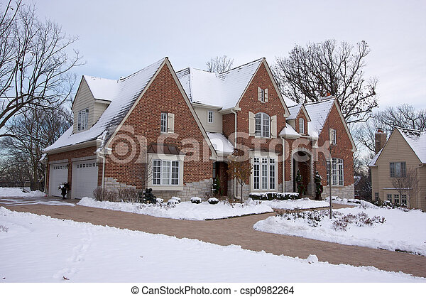 Majestic Newly Constructed Home  - csp0982264