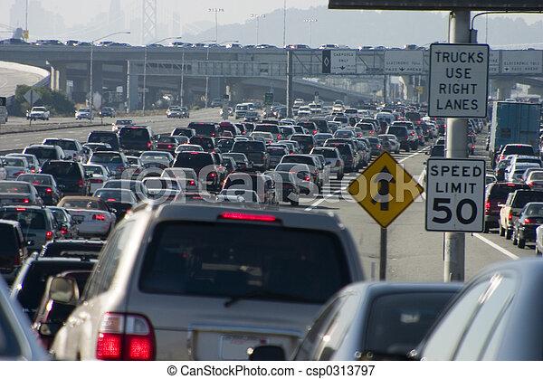 Major Traffic Jam 1 - csp0313797