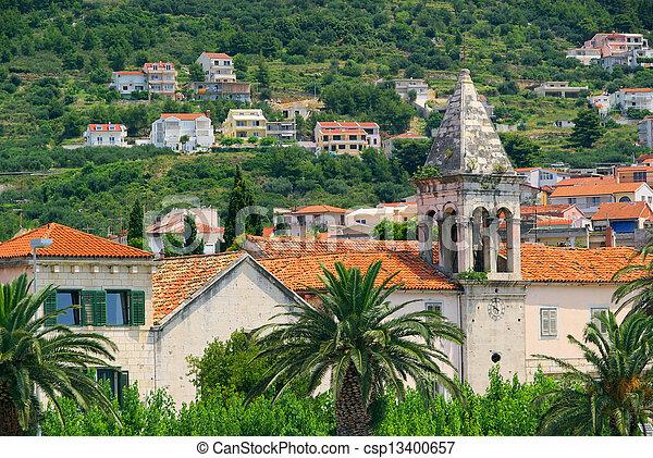 Makarska church 01 - csp13400657