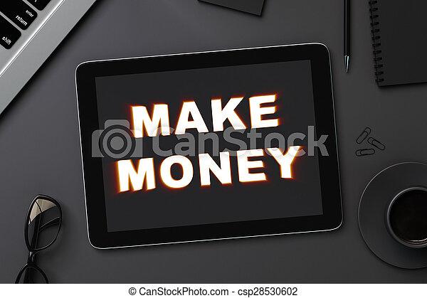 make money - csp28530602