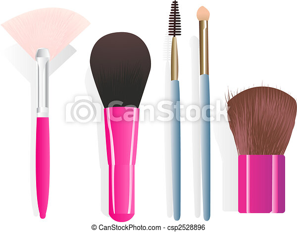 Make,up brushes