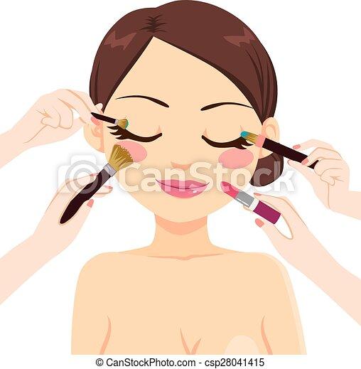 Make Up Model - csp28041415