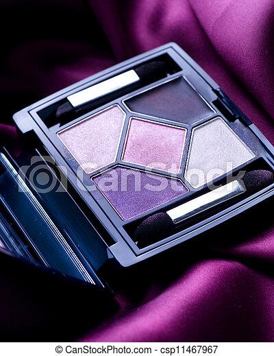 make-up, professioneel, schaduw, oog, closeup. - csp11467967