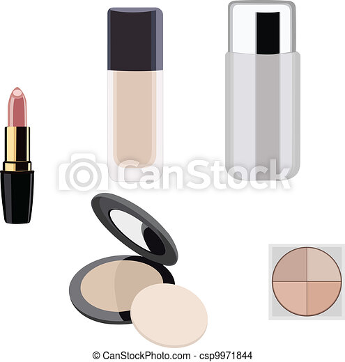 Makeup objects - csp9971844