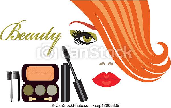 makeup - csp12086309