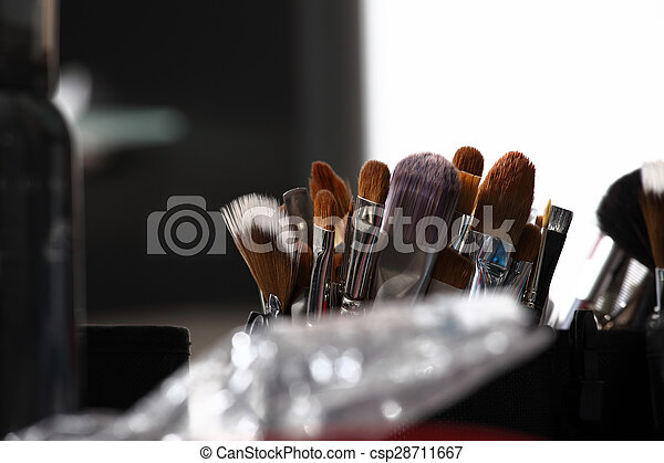 makeup zawadza, closeup - csp28711667