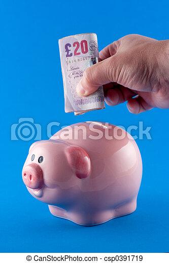 Making a cash deposit - csp0391719