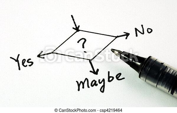 Making business decision - csp4219464