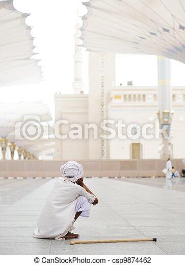 Makkah Kaaba Hajj Muslims - csp9874462