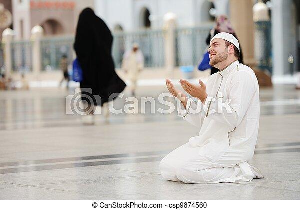 Makkah Kaaba Hajj Muslims - csp9874560