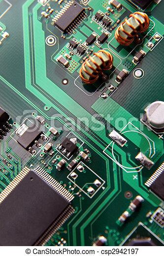 makro, deska, objazd, wzory - csp2942197
