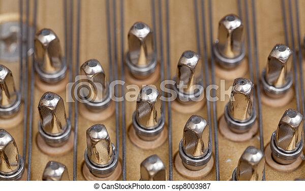 makro, klavier, bezug - csp8003987